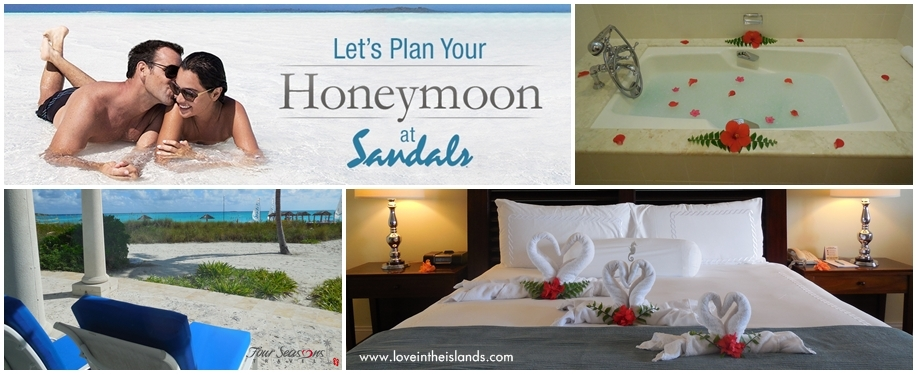 Sandals honeymoon planning